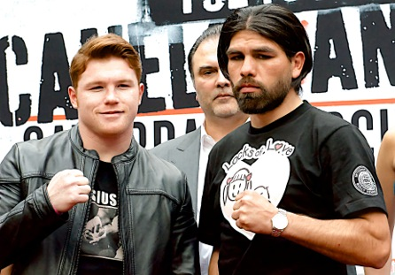 Angulo vs Alvarez  press conference in Los Angeles