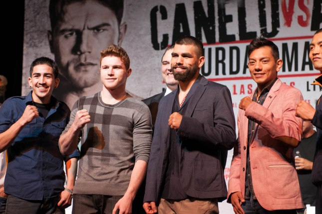 Canelo vs Angulo Final Press Conference 03 06 2014 (12 of 16)