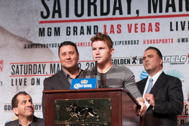 Canelo vs Angulo Final Press Conference 03 06 2014 (7 of 16)